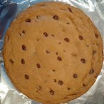 plain cookie cake