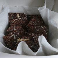 Deluxe brownie gift box