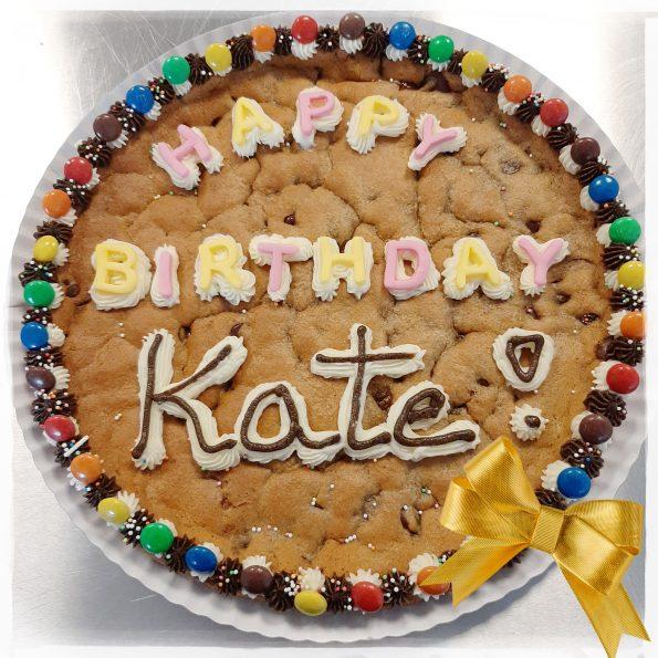 Happy BIrthday cookie cake