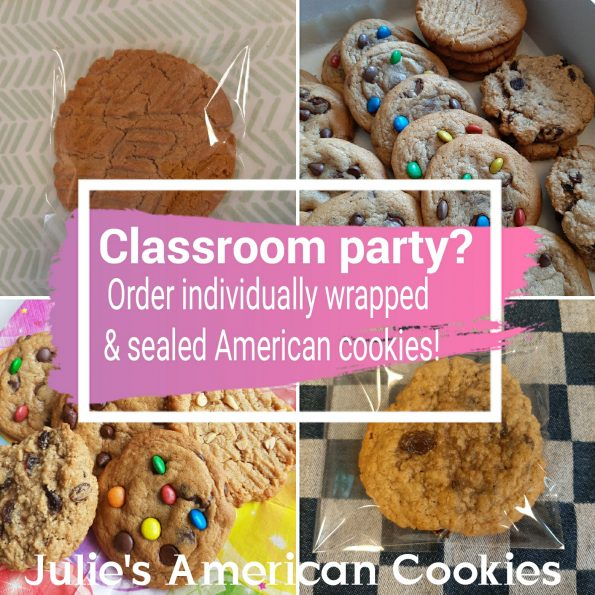 Classroom party cookies
