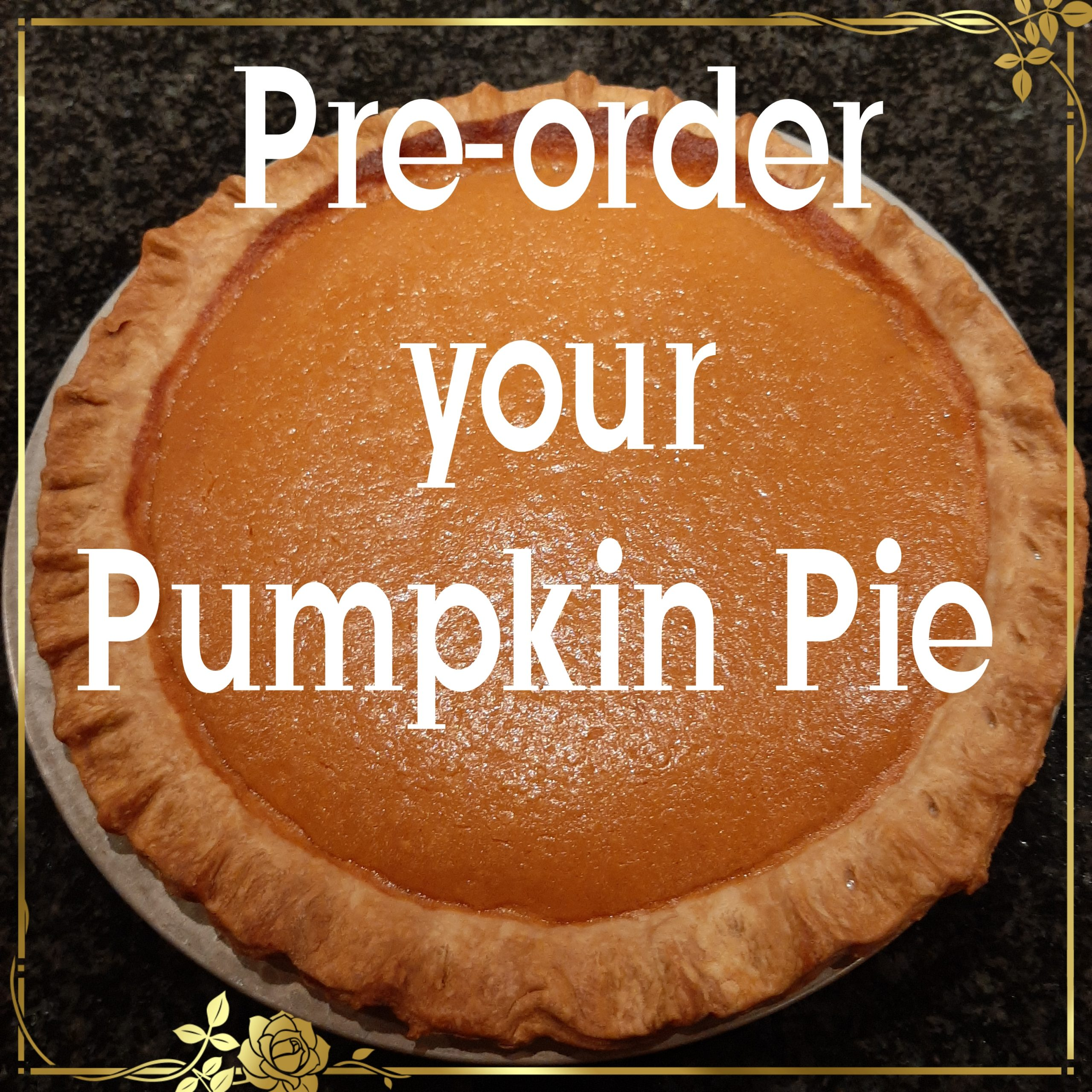 Pumpkin Pie (9in/22.8cm)