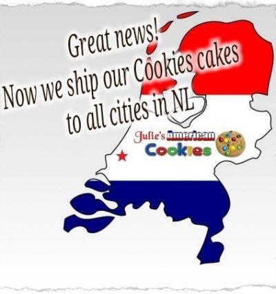 ship cookie cake netherlands